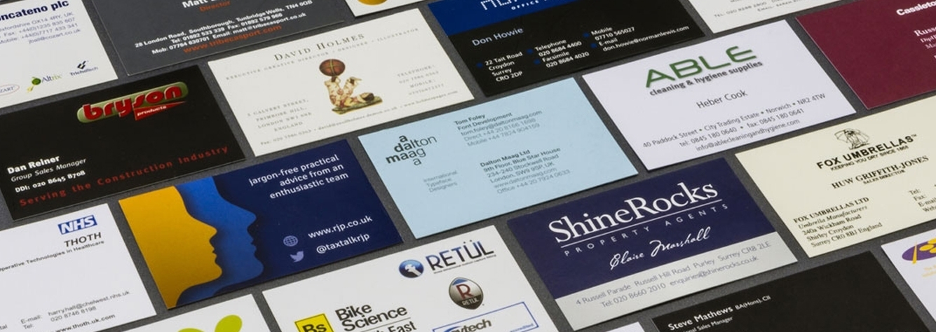 Business Card Printing, Embossed Business Cards | CG Print