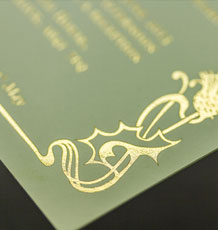 Thermographic Printing and Foiling